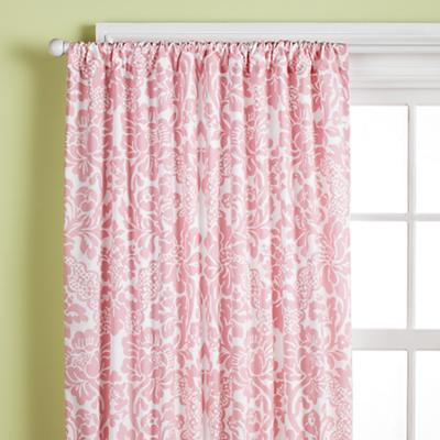 """63"""" Dk. Pink Floral Panel<br />(Sold Individually)"""