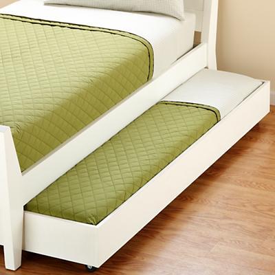 Blake Trundle Bed (White)
