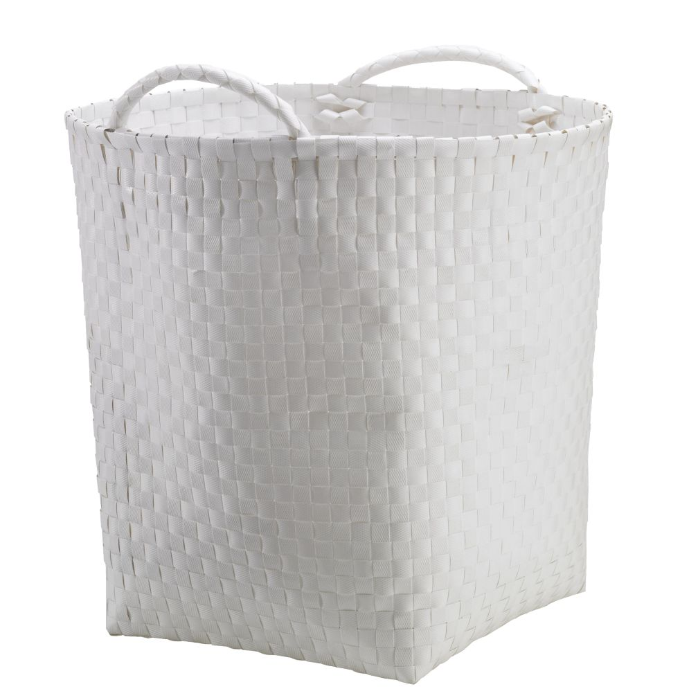 Strapping Floor Bin (White)