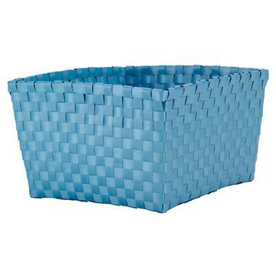 Strapping Shelf Basket (Lt. Blue)