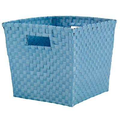 Strapping Cube Bin (Lt. Blue)