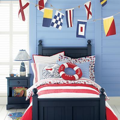 Nodical Nautical Flag Banner