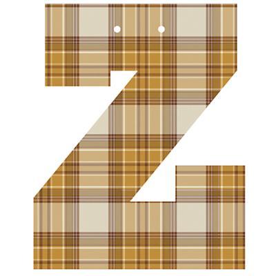 Varsity Letter Z