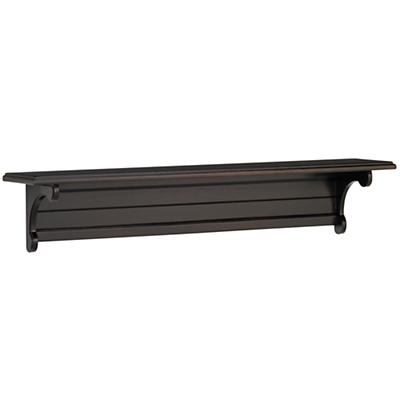 "36"" Scroll witt the Changes Wall Shelf (Espresso)"