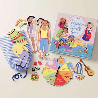 Dress for Success Paper Doll Game