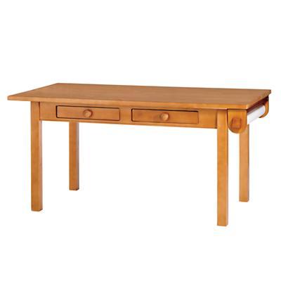 Medium Activity Table w/Paper Roller (Lt. Honey)