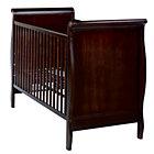 Espresso Sleigh Crib