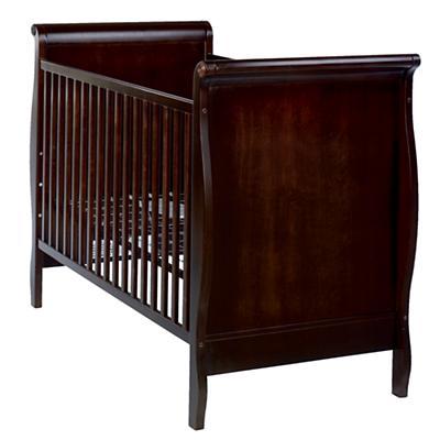 Sleigh Crib (Espresso)