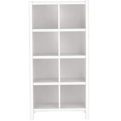 8-Cube Bookcase (White)