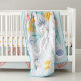 Marine Queen Crib Bedding