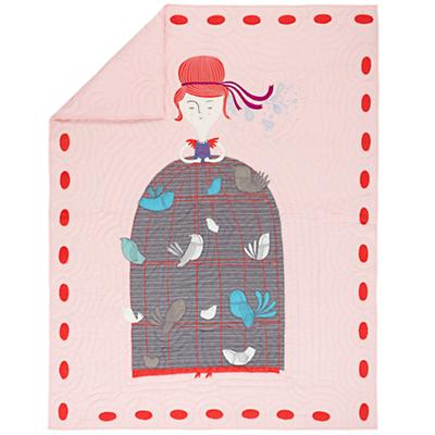 Madame Aviary Quilt (Twin)