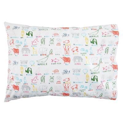 Field Guide Pillowcase