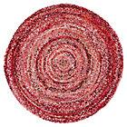 5' dia. Pink Ribbon Rug