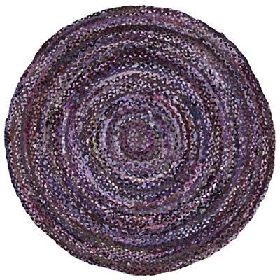 Ring Around the Ribbon Rug (Purple)