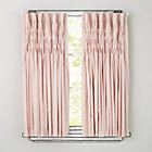 "63"" Pink Antique Chic Curtain Panel(Sold Individually)"
