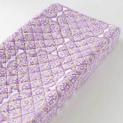 Changer Pad Cover (Lavender Paisley)