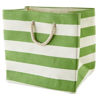 Stripes Around the Floor Bin (Green)