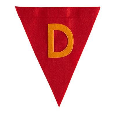 D Print Neatly Pennant Flag (Boy)