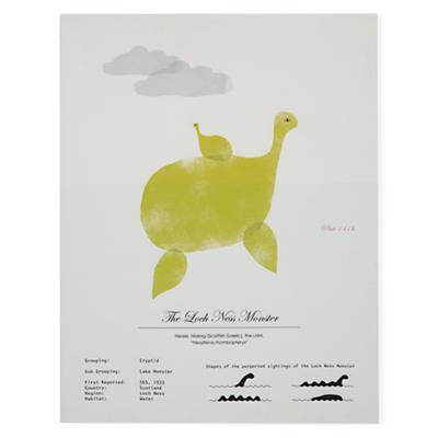 Rare Sightings Wall Art (Nessie)