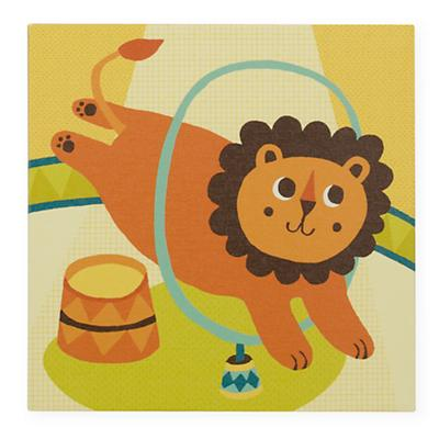 Three Ring Wall Art (Lion)
