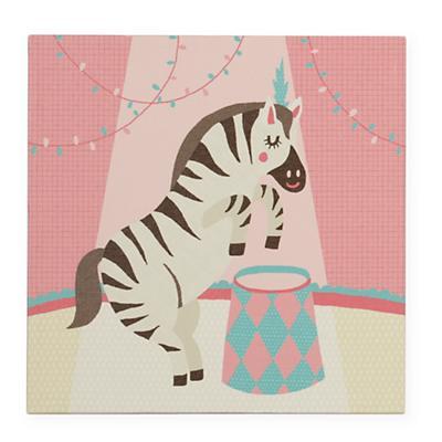 Three Ring Wall Art (Zebra)