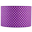 Purple Glow Lightly Floor Shade