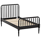 Twin Black Jenny Lind Bed