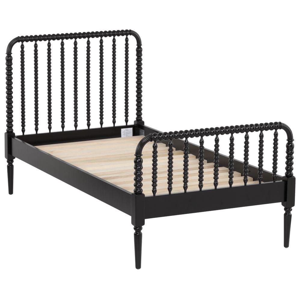 Twin Jenny Lind Bed (Black)