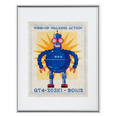 Retrobot Wall Art (Blue)