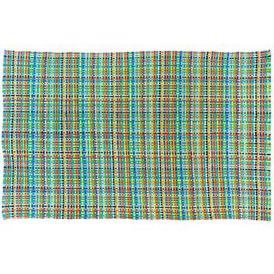 5 x 8' Hot Spot Rug (Blue)