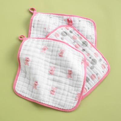 Pink Wash Up Washcloths (Set of 3)
