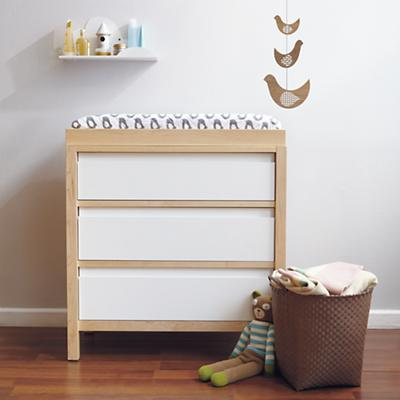Andersen 3-Drawer Dresser (Maple)
