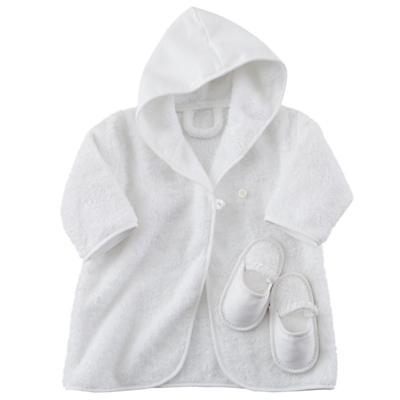 Baby Bathrobe and Slippers
