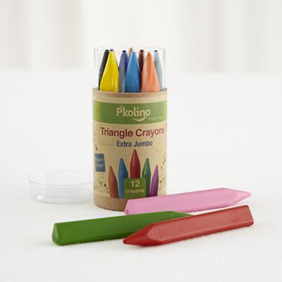 Triangle Crayons (Set of 12)