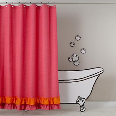 Ruffled Up Shower Curtain