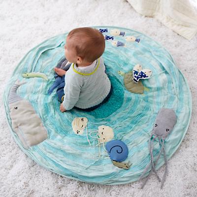 Marine Themed Baby Activity Mat   The Land of Nod