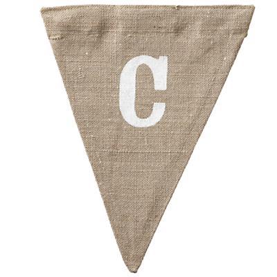 C Achievement Banner Flag