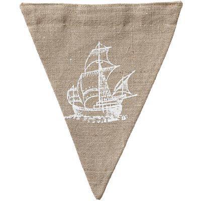 Ship Achievement Banner Flag
