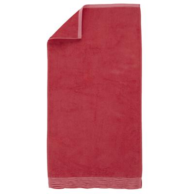 Raised Floral Hand Towel