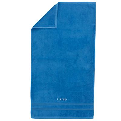 Personalized Fresh Start Bath Towel (Blue)