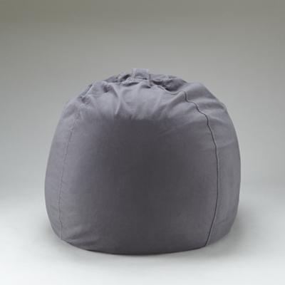 "40"" Grey Ginormous Beanbag Cover"