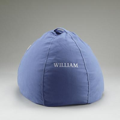 "30"" Personalized Beanbag Cover (Blue)"