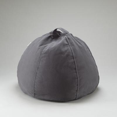 "30"" Grey Beanbag"