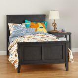 Bayside Panel Bed (Denim)