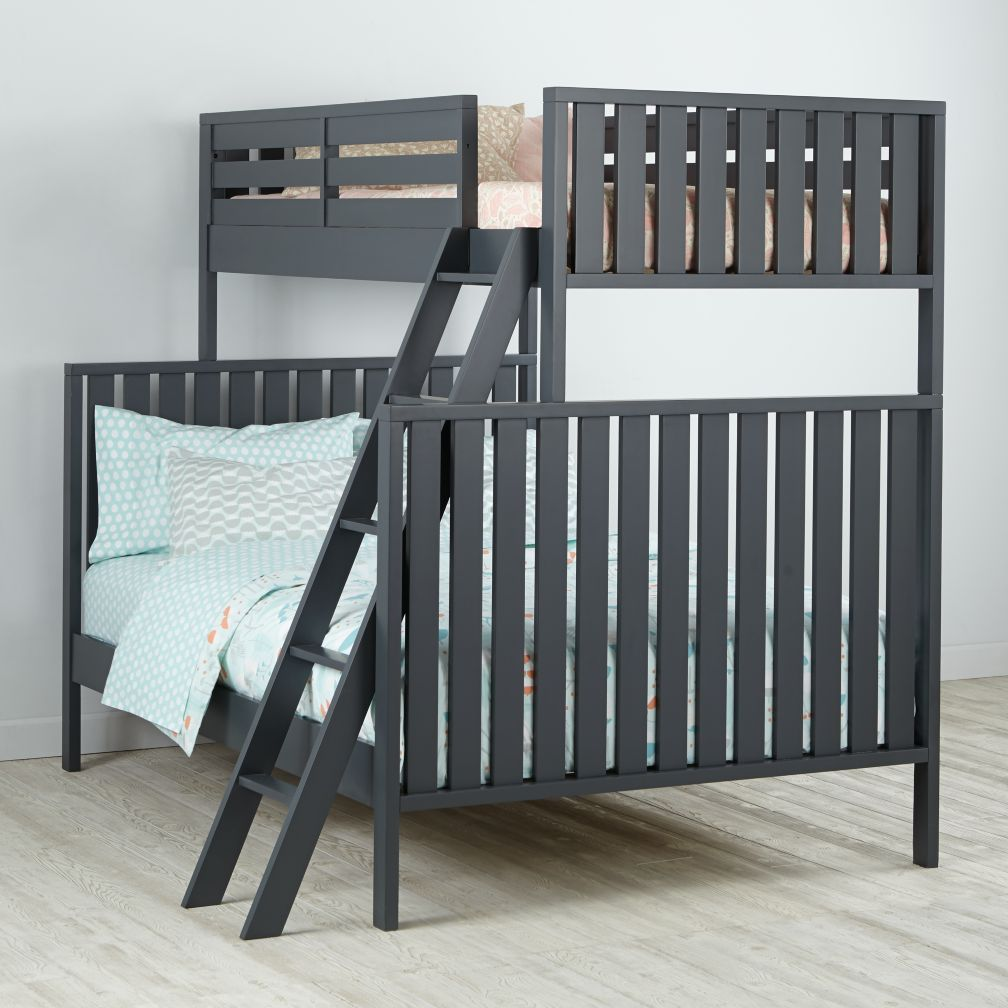 Full Cargo Bed Java The Land Of Nod Kids Beds: Bunk Beds, Trundle Beds & Twin Beds | The Land of Nod
