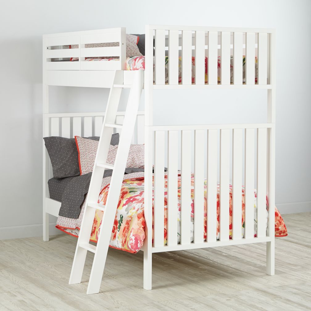 Cargo Bunk Bed (White)