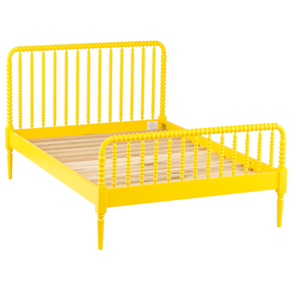 Full Jenny Lind Bed (Yellow)
