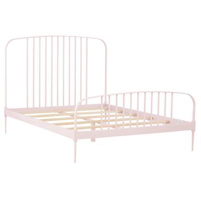 Full Larkin Metal Bed (Pink)