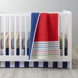 Candy Stripe Crib Bedding