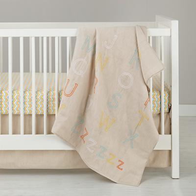 Elemenopee Fitted Crib Sheet